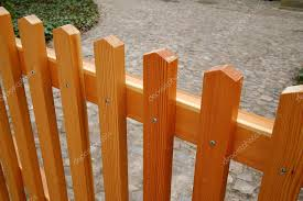 New Wooden Fence Background Of A Neat Flat Slats Attached With Screws Stock Photo C Designf21 43838405