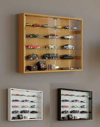 glass display cabinet wall mounted wide