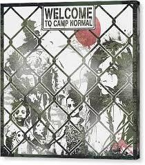 Chain Link Fence Canvas Prints Fine Art America
