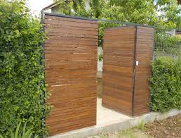 The Wooden Gate With Steel Frame Is Finally Ready Workshoptherapy Com