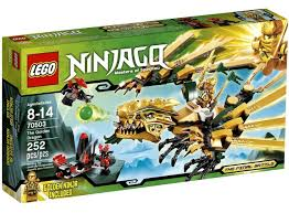 LEGO Ninjago The Final Battle The Golden Dragon Set 70503 - ToyWiz