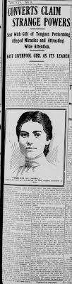 Iva Campbell (Azusa Missionary) in Ohio Page 1 - Newspapers.com