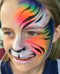how to do white tiger makeup saubhaya