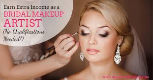 bridal makeup artist earn extra ine