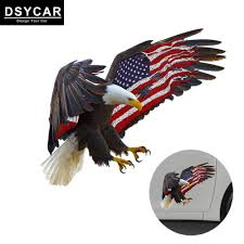 Pack Of 4 American Eagle Flying Usa Flag Car Decal Window Sticker Patriotic Auto Bumper Sticker Vinyl Decal For Car Truck Rv Suv Boat Support Us Military Exterior Accessories Itrainkids Com