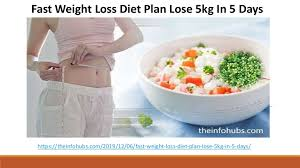 Vegan Meal Plan - Fast Weight Loss Diet Plan Lose 5kg In 5 Days