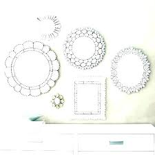 archived of hanging circle mirror set
