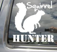 Squirrel Hunter Hunting Car Laptop Bumper Window Vinyl Decal Sticker 01522 Ebay