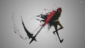 grim reaper wallpaper fantasy