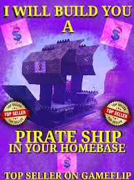 Bundle Pirate Ship Build In Game Items Gameflip