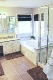 big change for a small bathroom