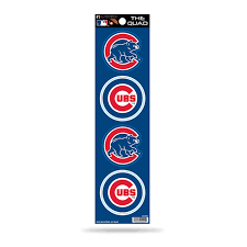 Chicago Cubs Quad Decal Set