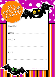 Party Planning Center Free Printable Halloween Invitations Con Imagenes Halloween Invitaciones Decoracion Halloween