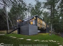 maison en bois clt au bord d un lac