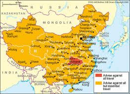 china travel advice gov uk
