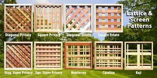 Borg Fence Decks Uses A Very Thick Heavy Duty Lattice Framed In With One By One Redwood Giving Lattice La Lattice Privacy Screen Lattice Deck Fence Toppers