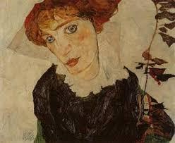 Portrait of Valerie Neuzil - Egon Schiele | Wikioo.org - The Encyclopedia  of Fine Arts
