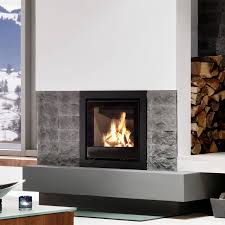 open wood hearth 1 sided metal