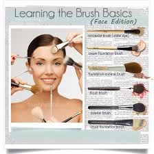 basic face brushes how to choose and