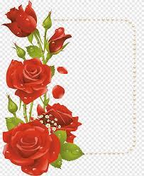 إطارات زهرة روز زهرة ترتيب الزهور زهرة اصطناعية Png