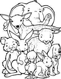 All Sorts Of Animals Coloring Page Beestenboel Allerlei Dieren