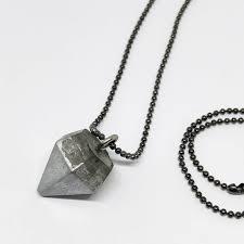 chain necklace black ball chain
