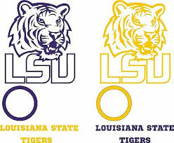Cornhole Bag Toss Lsu Tigers Cornhole Set Of 6 Vinyl Decal Stickers Louisiana State Bean Bag Toss Sporting Goods Cub Co Jp