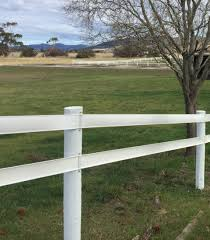 Bounce Back 100m Horse Fencing Rail White