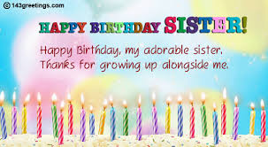 the best birthday wishes for sister greetings