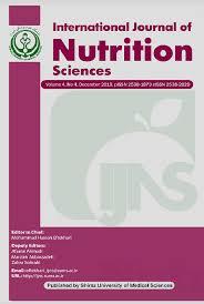 international journal of nutrition sciences