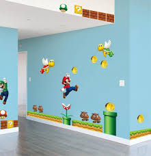 Best Top Super Mario Bros Wall Stickers Decals Brands And Get Free Shipping 94l4i6n3