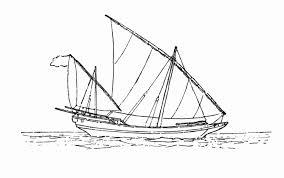 Tổng hợp các bức tranh tô màu thuyền buồm - Zicxa books