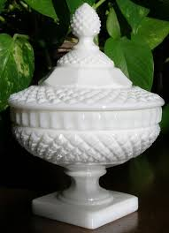 vintage candy dish with lid waterford