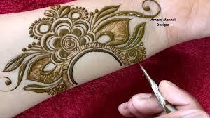 modern mehndi design simple front hand