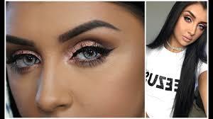 make up tutorial for blue eyes you