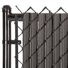 Maximum Privacy Black Solitube Slats For 4ft Chain Link Fence Walmart Com Walmart Com