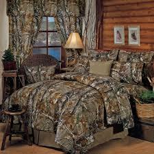 Realtree R Rustic Camo Comforter Bedding