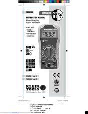 klein tools mm300 manuals manualslib