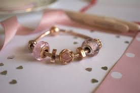 pandora rose two hearts spacer charm