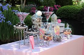 astonishing candy buffet table decor