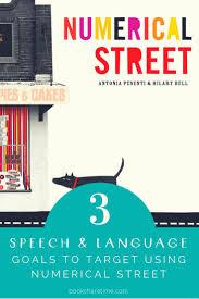 Numerical Street - Hilary Bell   Speech and language, Language goals,  Speech language pathologists