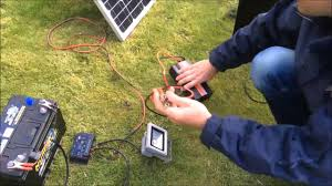How To Set Up A Solar Panel Regulator Battery And Inverter Free 240v Electricity Part 2 Youtube