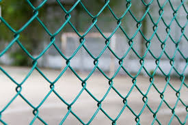 2 4mtr Pvc Chain Link Fence Green Plastic Coated Steel Mesh 12 5m Roll