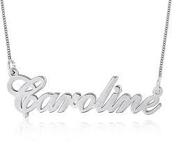 ouslier 925 sterling personalized