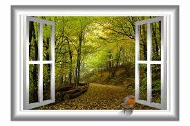 East Urban Home 3d Bird Nature Window Wall Decal Reviews Wayfair