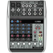 Mixer Behringer Xenyx Q802usb  mang nhiều đặc điểm nổi bật