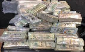 one million dollars seized by