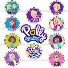 Polly Pocket 11 Png Diy Digital Images Mesa De Festa Infantil