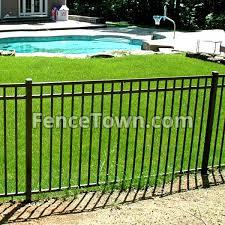 Jerith Aero Elba Aluminum Fence Panel 54h Fencetown