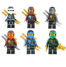 LEGO Ninjago Set of 6 Skybound Ninjas -Lloyd, Nya, Zane, Cole, Jay ...